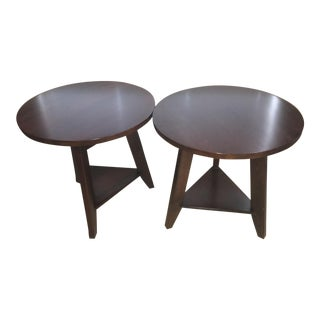 Restoration Hardware Taylor Cricket Tables - A Pair