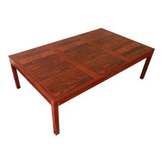 Henning Kjærnulf for Vejle Danish Modern Rosewood Coffee Table
