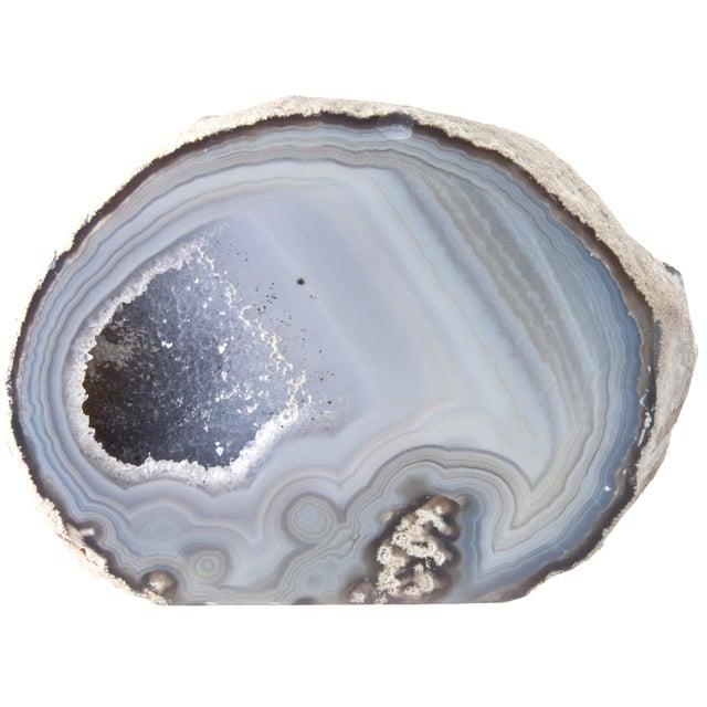 Image of Cut Polished Crystal Geode