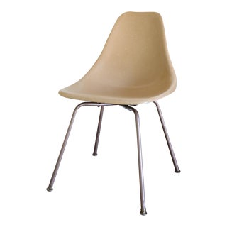Brown Plastic Side Chair