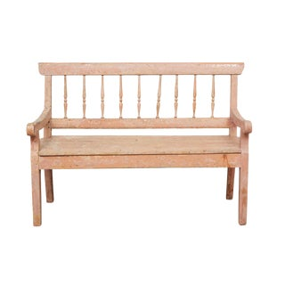 19th Century German Country Bench