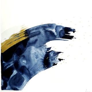 Beth Winterburn Original Abstract - Indigo Series 5