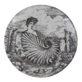 Fornasetti Vintage 1950's Plate