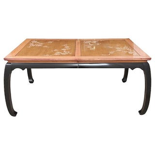 Inlaid Ming Style Dining Table