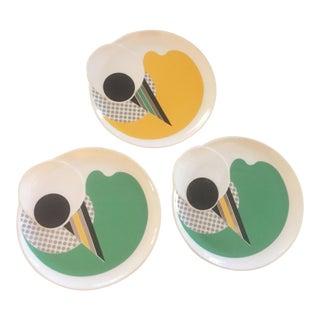 Kato Kogei Salad Plates by Fujimori - Set of 3