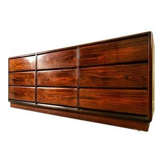 Mid-Century Rosewood Dresser