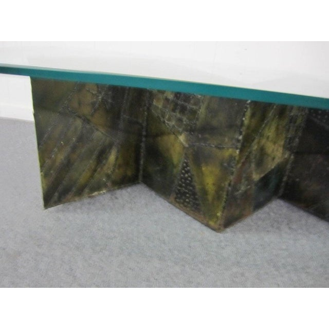Image of Paul Evans Zigzag Coffee Table