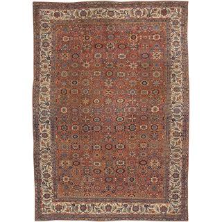 """Antique Mahal Persian Carpet - 15' x 10'8"""""""