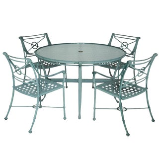 Brown Jordan Aluminum Patio Set - Set of 5