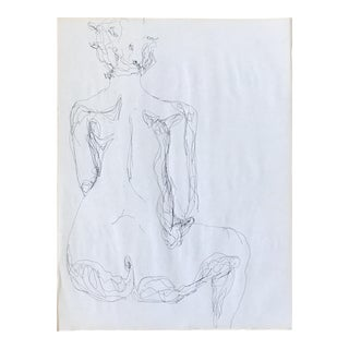 Backside Figurative Drawing
