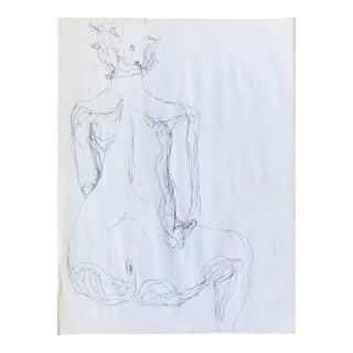 Backside Figurative Drawing