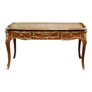 19th Century French Louis XV Walnut Desk
