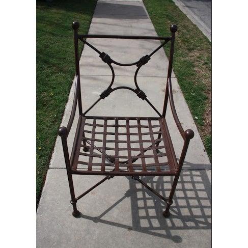 Sunbrella Cushion Outdoor Dining Set - Image 10 of 11