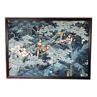 Balinese Mural Tropical Jungle Painting