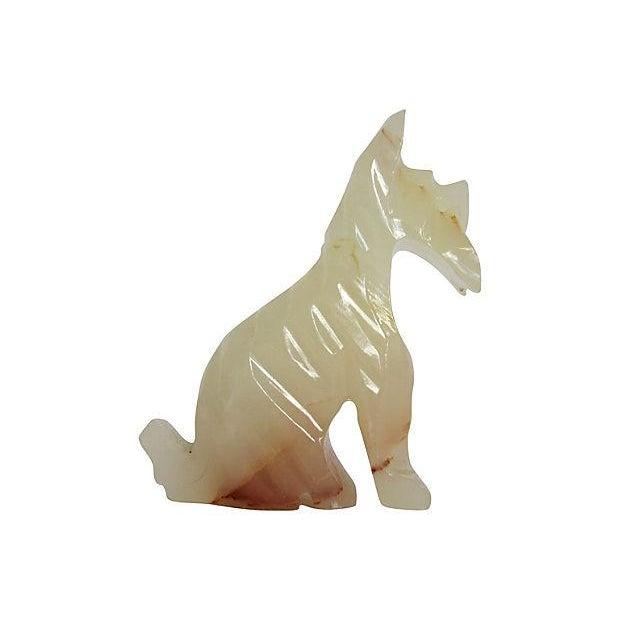Honey Onyx Scottie Dog - Image 3 of 3
