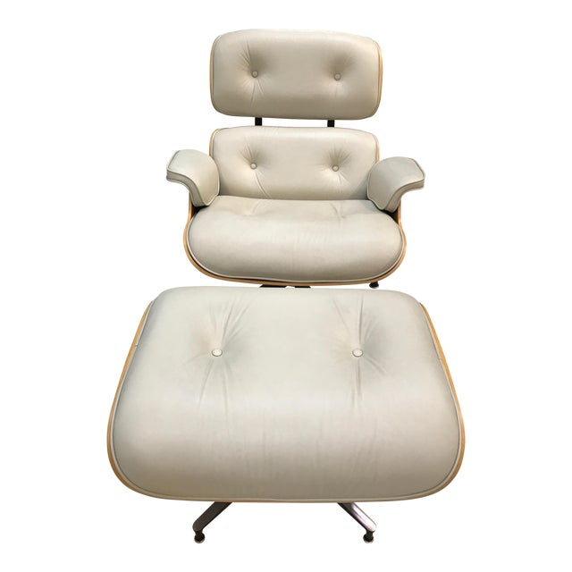 Herman Miller Lounge Chair & Ottoman - Image 1 of 9