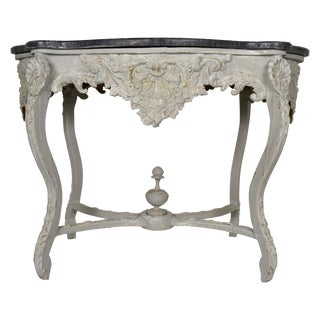 19th Century Louis XV Carved Center Table