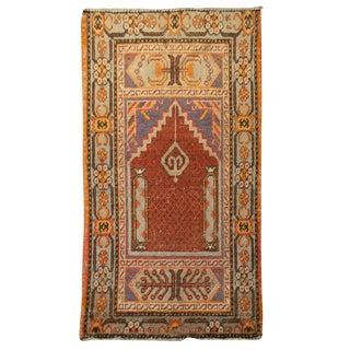 Early 20th Century Khotan Prayer Rug