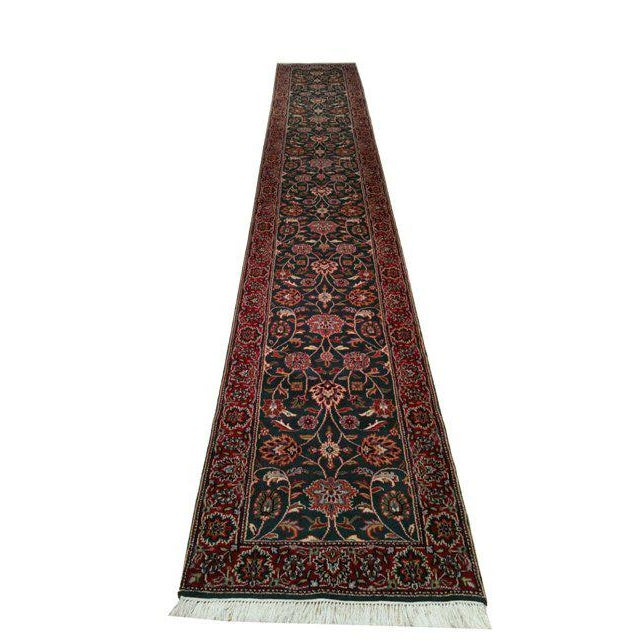 2′7″ × 16′4″ Traditional Hand Made Knotted Runner Rug - Size Cat. 16 Ft Runner - Image 2 of 3