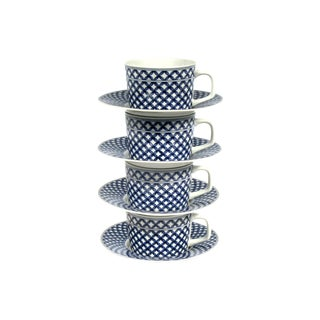 Georges Briard Cups and Saucers - Set of 4