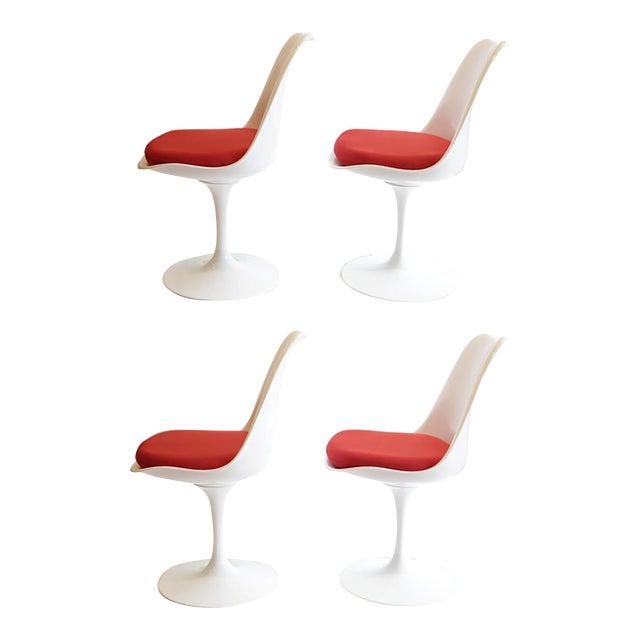 Saarinen Tulip Armless Chair by Knoll - Image 10 of 11