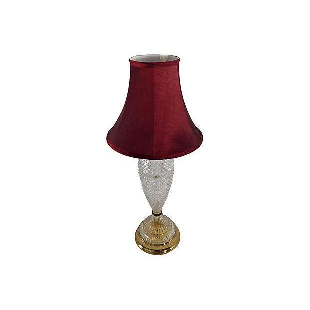Italian Diamond Point Table Lamp - Image 2 of 5