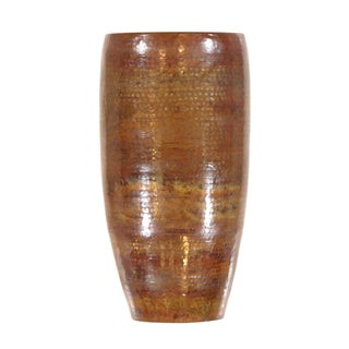 Pasargad's Hand-Forged Copper Vase 23""