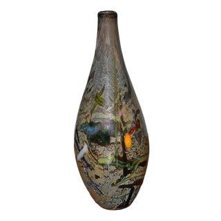 Adam Aaronson Art Glass Bottle