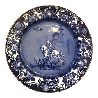 "Royal Doulton Plate, Don Quixote ""The Blanket Tossing"""