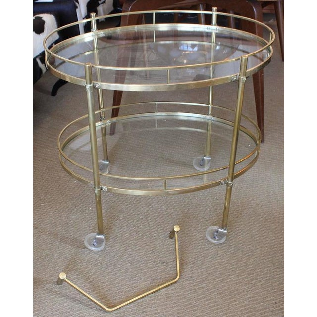 Maxwell Phillips Solid Brass Server - Image 4 of 4