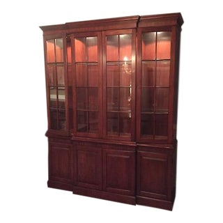 Henkel Harris Mahogany & Glass China Cabinet