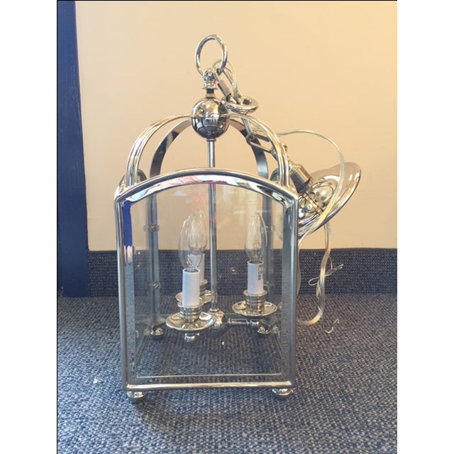 Visual Comfort Arch Top Mini Lantern in Nickel - Image 6 of 7