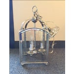 Image of Visual Comfort Arch Top Mini Lantern in Nickel