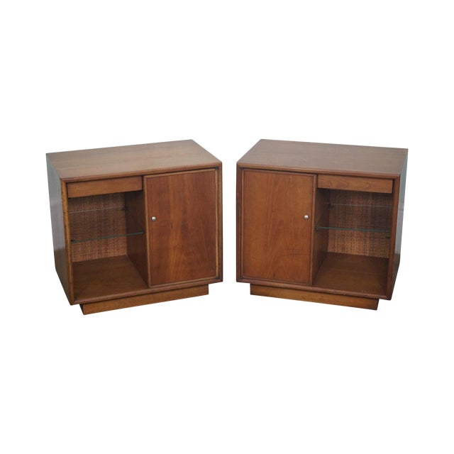 Kipp Stewart Mid-Century Nightstands - A Pair - Image 1 of 10