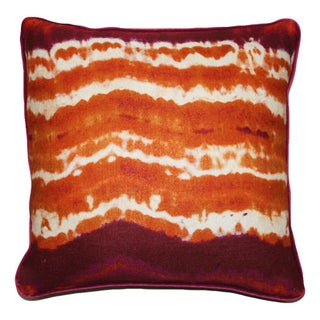 Kim Salmela Modern Orange Pillow