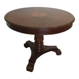 Marquetry Pedestal Round Dining