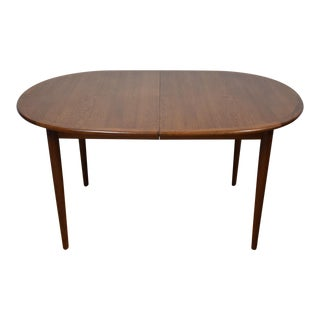 Teak Dining Table With Leaf