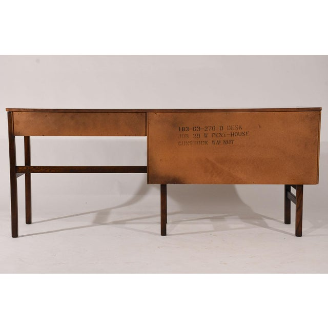 Mid-Century Modern-style Desk by Basset Furniture - Image 8 of 8