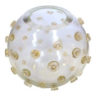 Cornelio Cappellini Murano Gold Infusion Centerpiece