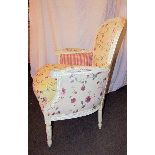 Wesley Hills Floral Upholstered Side Chair - Image 5 of 6