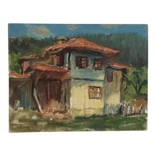 """""""Old Spanish House"""" Oil Painting"""