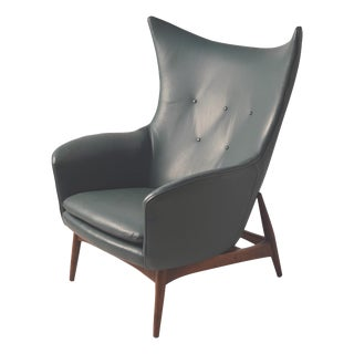 J. B. Van Sciver Co. Mid-Century Wing Lounge Chair
