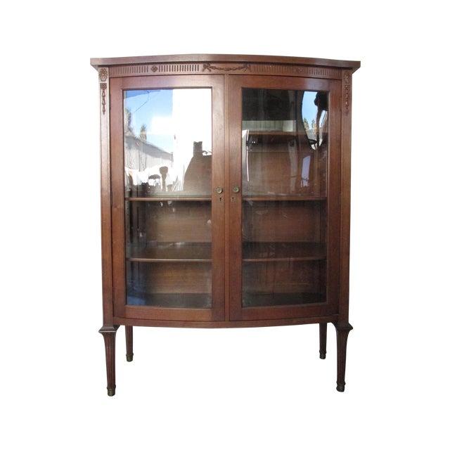 Image of Mahogany Display Cabinet