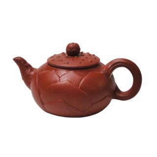 Chinese Handmade Yixing Zisha Purple Sand Clay Teapot