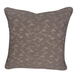 Schumacher Neutral Off White Geometric Pillow