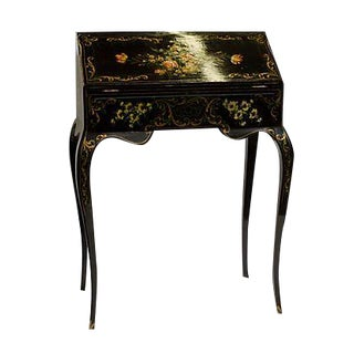 Antique Hand Painted French Secretaire