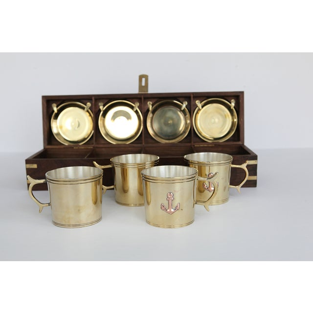 Nautical Captain's Cup and Saucer Box Set - Image 4 of 7