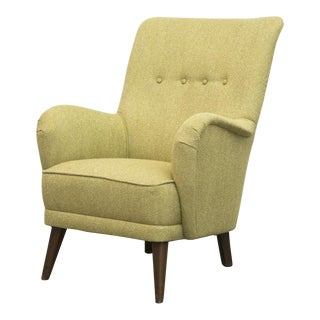 Green Theo Ruth for Artifort Lounge Chair