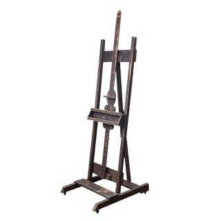 Large Late 19th Century Easel