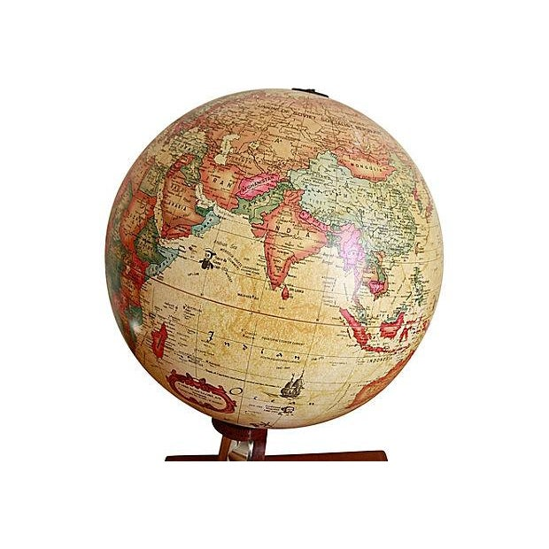 Vintage Globe Desk Lamp - Image 4 of 6